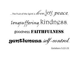 galatians 5 22 23 the fruit of the spirit is love e art wall vinyl decal ozdeco t s polonaiz