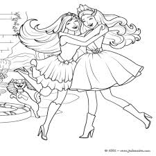 18 Dessins De Coloriage Princesse Barbie Imprimer L Int Rieur