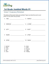 Printable Dictionary Skills Worksheets For Grade High School ...