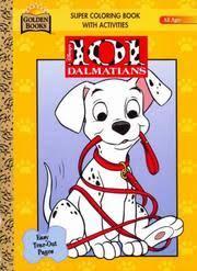 cover of walt disney s 101 dalmatians giant color activity book golden books