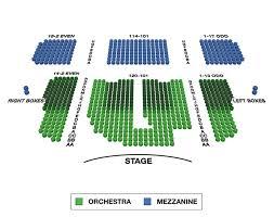 Booth Tarkington Civic Theatre Seating Chart
