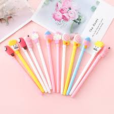 <b>36pcs</b>/<b>set</b> Creative <b>Cute</b> Food Gel Pen Cartoon Party Gift for Kids ...