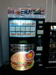 Cheeseburger Vending Machine Interesting Cheeseburger Vending Machines Vending Machine Disguises And More