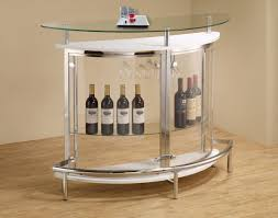 modern glass furniture. contemporary glass small bar unit dc furniture modern i