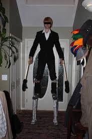 costume slender man slenderman stilts marble