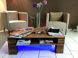 coffee table with lights handmade rustic pallet coffee table with lights coffee table with lights home coffee table led
