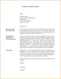 Letter Of Interest Sample For Internal Posting Position