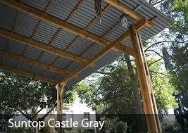 suntop pc roof panel image 1 3 suntop foamed polycarbonate corrugated roof panel