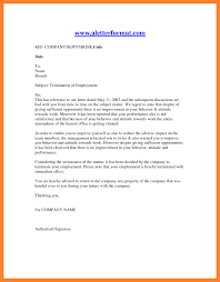 sample letters of termination 11 employment termination notice sample notice letter
