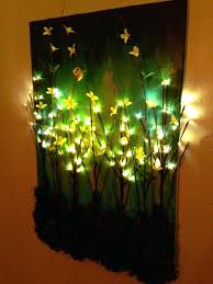 led lighted canvas art light up wall made this branches on painted craftiness radiance led lighted canvas art  on lighting up wall art with led lighted canvas art wall christmas here is your answer