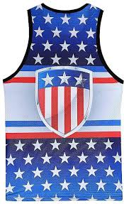 Generic Fashion Mens Casual Printed The Old Glory