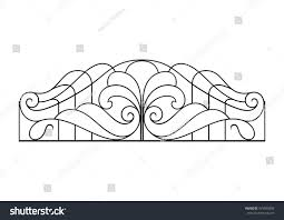 Balcony Fence wrought iron balcony fence stock vector 479580850 shutterstock 8509 by guidejewelry.us