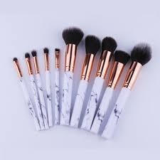 marble makeup brushes. chileelove newest 10 pcs/set marble stripe makeup brushes kits blush bulk powder eye shadow highlight repair capacity brush-in underwear from mother \u0026 kids b