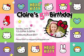 design hello kitty birthday invitations templates hello kitty hello kitty birthday invitations templates