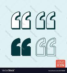 Quotes Citation Comma Sign Quotation Double