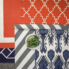 remarkable ikat outdoor rug multi color ikat indooroutdoor rug navy williams sonoma