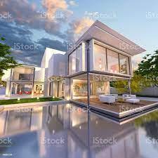 Dream House Der Vorderseite Stockfoto und mehr Bilder von Luxus - iStock