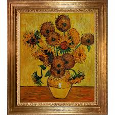 still life vase with fifteen sunflowers gallery vases design picture vincent van gogh vase with fifteen