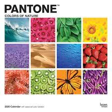 Pantone 2020 Wall Calendar