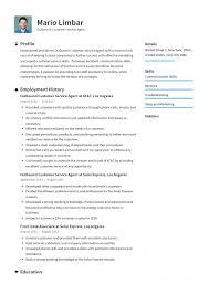 Imposing Customer Service Resume Template Free Ideas