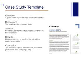 business case study template business letter template gallery of business case study template