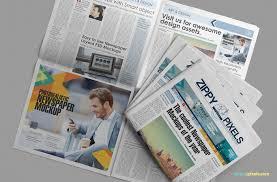 Free Newspaper Template Psd Newspaper Mockups Free Psd Download Zippypixels