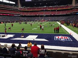 Texans Reliant Stadium Seating Chart Nrg Stadium Section 135 Houston Texans Rateyourseats Com