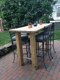 outdoor wood bar outdoor patio bar sets folding bar table long bar table bar height balcony furniture