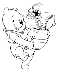 Winnie Disney Coloring Pages For Kids Disney Coloring Pages Free