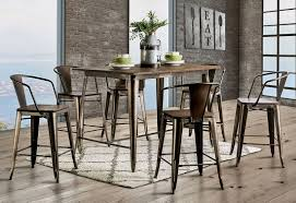 industrial dining room table and chairs. Industrial Dining Room Table And Chairs