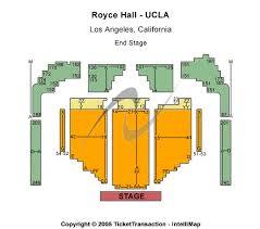 Royce Hall Ucla Seating Chart