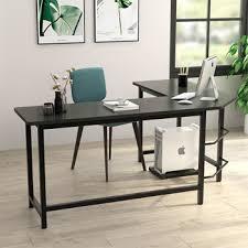 Best corner desk Shaped Best Basic Understated Lshaped Desk Tribesigns Modern Corner Desk For Your Corner The Best Lshaped Desks Ign