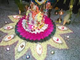 ganesh chaturthi home decorations decorating ideas images themes