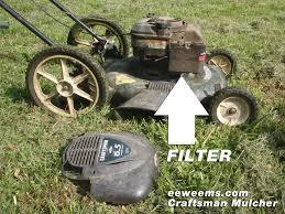 craftsman mower mulcher 22 air filter