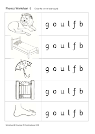 Split into 7 groups, the worksheets contain all 42 letter sounds. Phonics Picture Match 6 Goulfb Teaching Resources