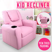 kid lounge furniture. Kid Recliner Sofa Children Kids Lounge Chair Leather Arms Furniture O
