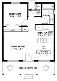 Cottage House Plan 99971. 1 Bedroom ...