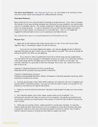 10 Ats Formatted Resume Example Resume Letter