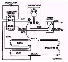 electric oven wiring diagram electric image wiring electric baseboard thermostat wiring diagram wiring diagram on electric oven wiring diagram