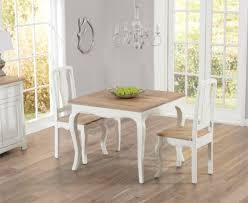Buy The Parisian 90cm Shab Chic Dining Table With Chairs At Oak Design of Shabby  Chic Dining Tables And Chairs