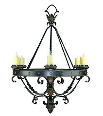 wrought iron candle chandeliers non electric wrought iron chandeliers for candles new designs a accessories a