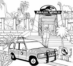 Color online full screen download print picture. Jurassic World Coloring Pages Best Coloring Pages For Kids