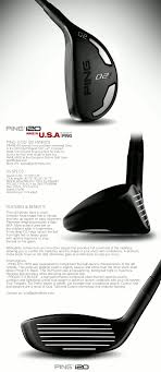 Ping I20 Mens Hybrids Compact Workable Forgiving