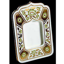 name royal crown derby derby panel green photo frame 07460