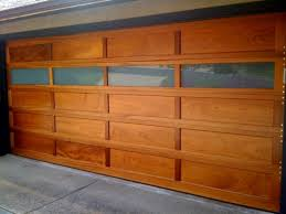 wood garage door panel replacement