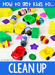 How To Get Kids To Clean Up Pre K Pages