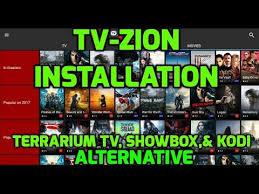 tvzion. 🔥introducing tv zion🔥   alternative to terrarium tv, showbox, \u0026 kodi installation and walk-through tvzion