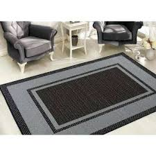 7 x 11 rugs collection bordered design black 7 ft x ft area rug 7 x 7 x 11 rugs