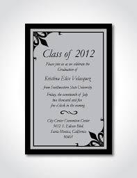 Formal Graduation Announcement Graduation Announcement Formal Invitation By Snicoledesigns