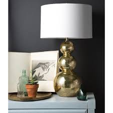 glamorous gold glass table lamp gold base table lamp uk